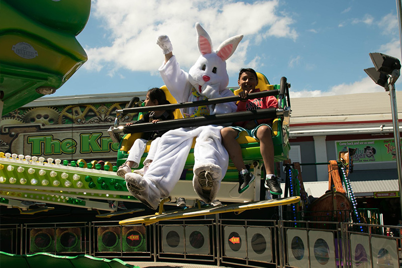 Jolly Roger Easter Bunny