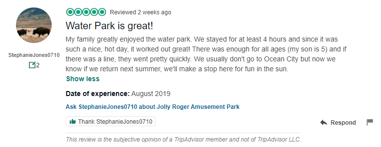 Jollyroger Tripadvisorreview Jolly Roger Parks Reviews